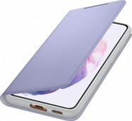 Samsung Galaxy S21 Led View Book Case Paars
