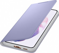 Samsung Galaxy S21 Plus Led View Book Case Paars