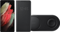 Starterspakket - Samsung Galaxy S21 Ultra 128GB Zwart 5G