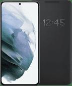 Samsung Galaxy S21 256GB Grijs 5G + Samsung Smart Led View Cover Zwart