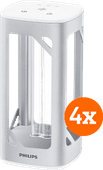 Philips UV-C disinfection desk lamp 4-Pack