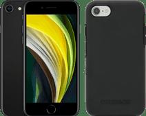 Apple iPhone SE 64GB Black + OtterBox Symmetry Back Cover Black