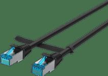 BlueBuilt Netwerkkabel STP CAT6 1 meter zwart