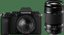 Fujifilm X-S10 Zwart + XF 18-55mm f/2.8-4 + XF 55-200mm f/3.5-4.8