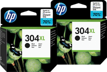 HP 304XL Cartridges Zwart Duo Pack