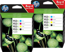 HP 953XL Cartridges Duo Combo Pack