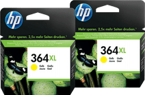 HP 364XL Cartridges Geel Duo Pack