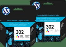 HP 302 Cartridges Kleur Duo Pack