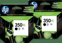 HP 350XL Cartouches Noir Lot de 2
