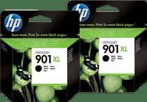 HP 901XL Cartridges Zwart Duo Pack