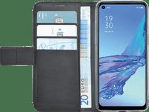 Azuri Wallet OPPO A53 / A53s Book Case Zwart