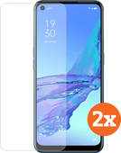 Azuri Tempered Glass OPPO A53s Screenprotector Duo Pack