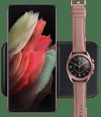 Samsung Chargeur Sans Fil DUO Pad 9 W Noir