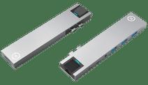 BlueBuilt usb C 8 in 1 MacBook Docking Station Zilver