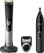 Philips OneBlade QP6520/30 + Philips NT5650/16 Nose Trimmer