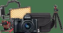 Canon EOS M50 Noir Kit pour Vlog
