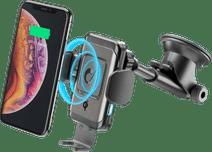 Cellularline Universele Telefoonhouder met Draadloos Opladen Dashboard/Voorruit