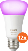 Philips Hue White and Color E27 Bluetooth 12-Pack Philips Hue E27 White & Color