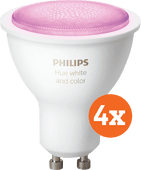 Philips Hue White and Color GU10 Bluetooth 4-Pack