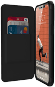 UAG Metropolis Apple iPhone 12 / 12 Pro Book Case Zwart