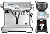 Sage the Dynamic Duo Stainless Steel Sage koffiemachines