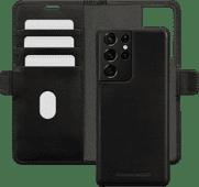 DBramante1928 Lynge Samsung Galaxy S21 Ultra 2-in-1 Cover Leer Zwart