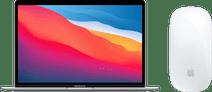 Apple MacBook Air (2020) MGN93FN/A Zilver AZERTY + Apple Magic Mouse 2