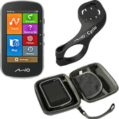 Pack GPS vélo Mio Cyclo Discovery Plus