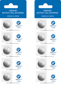 Veripart Lithium knoopcelbatterijen 5 stuks Duo Pack