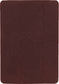 Decoded Apple iPad (2020)/(2019) Book Case Leather Brown