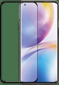 Azuri Curved Tempered Glass OnePlus 8 Pro Screenprotector Rinox Armor Zwart