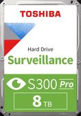 Toshiba S300 PRO Surveillance Hard Drive 8TB HDWT380UZSVA