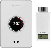 Bosch EasyControl CT200 wit + Bosch EasyControl Smart Radiator Thermostat RT10-RF