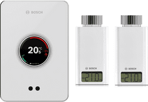 Bosch EasyControl CT200 wit + 2x Bosch EasyControl Smart Radiator Thermostat RT10-RF