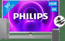 Philips 50PUS8505 + Barre de son + Enceinte wifi + Câble HDMI