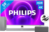 Philips 58PUS8505 + Soundbar + Wifi speaker + HDMI kabel