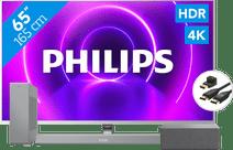 Philips 65PUS8505 + Soundbar + Wifi speaker + HDMI kabel