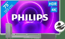 Philips 75PUS8505 + Soundbar + Wifi speaker + HDMI kabel
