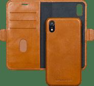 DBramante1928 Lynge Apple iPhone Xr 2-in-1 Case Leer Bruin
