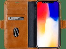 DBramante1928 Copenhagen Apple iPhone Xr Book Case Leer Bruin