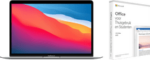 Apple MacBook Air (2020) MGN93FN/A Zilver AZERTY + Microsoft Office 2019