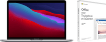 """Apple MacBook Pro 13"""" (2020) MYD92FN/A Space Gray AZERTY + Microsoft Office 2019"""