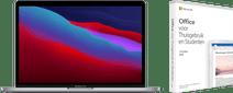 "Apple MacBook Pro 13"" (2020) 16GB/512GB Apple M1 Space Gray AZERTY + Microsoft Office 2019"