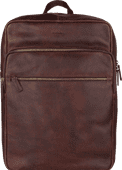 """Burkely Antique Avery Zip 15"""" Brown 12L"""