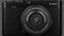 Fujifilm X-E4 Zwart + XF 27mm f/2.8 R WR