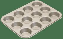 Brabantia Muffinvorm met anti aanbaklaag (12 muffins)