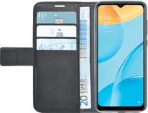 Azuri Wallet OPPO A15 Book Case Zwart