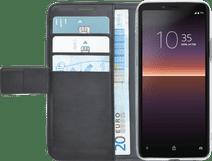 Azuri Wallet Sony Xperia 10 II Book Case Zwart