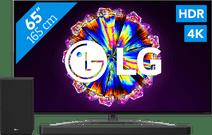 LG 65NANO866NA (2020) + Soundbar