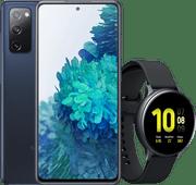 Samsung Galaxy S20 FE Bleu + Samsung Galaxy Watch Active2